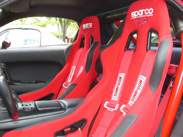 Sparco Racing Seats Pair Sparco Road Racing Seats