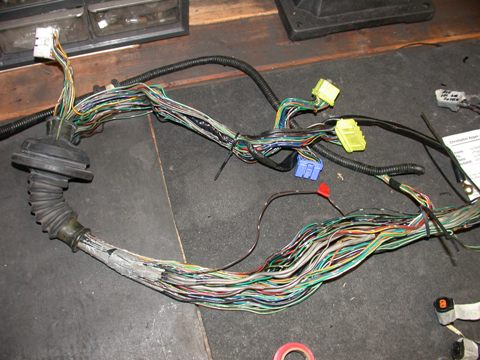triple r engine rebuild wiring harness rebuild rh reganrotaryracing com rx7 wiring harness diagram rx7 engine wiring harness
